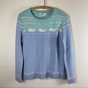 Vineyard Vines Fairisle Whaleisle Pastel Sweater